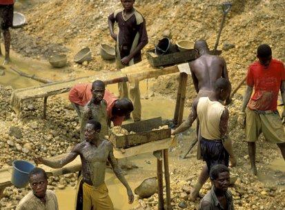 Ghana – Miniera oro