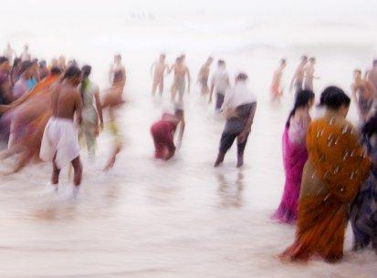 India – Orissa – Puri cerimonia