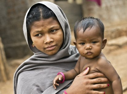 India Orissa – Etnie montagna